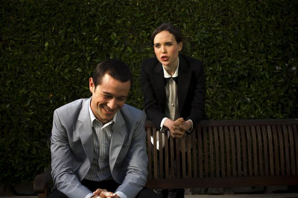 Joseph Gordon-Levitt y Ellen Page